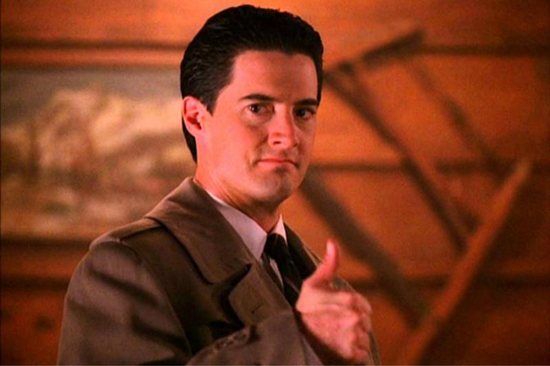 FBI Special Agent Dale Cooper (Kyle MacLachlan) from the original series 'Twin Peaks.'