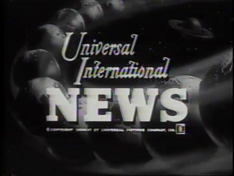 Universal Newsreel header.