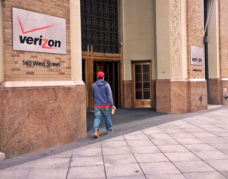 The Verizon Building dates back to the 1920s