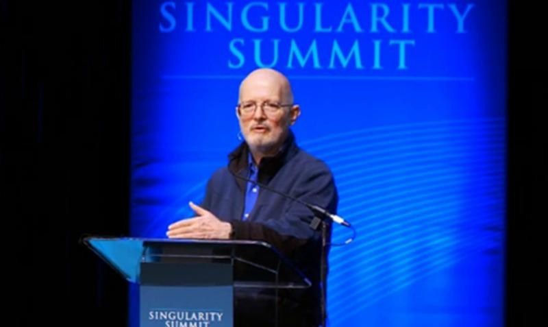 Vernor Vinge speaking at the Singularity Summit 2012