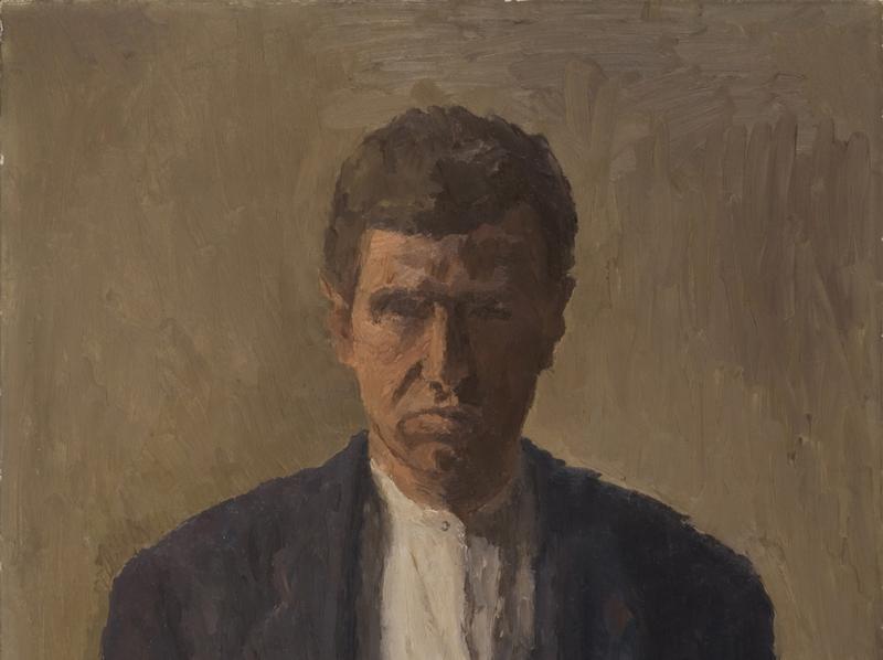 "Giorgio Morandi, ""Self-Portrait,"" 1930. On display at the Center for Italian Modern Art."