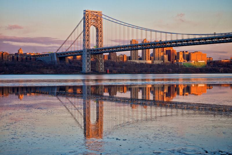 Evening Sunlight on the George Washington Bridge