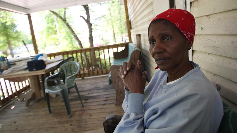 Wilhemina's Dixon worries about her granddaughter Dayshal, born HIV positive.