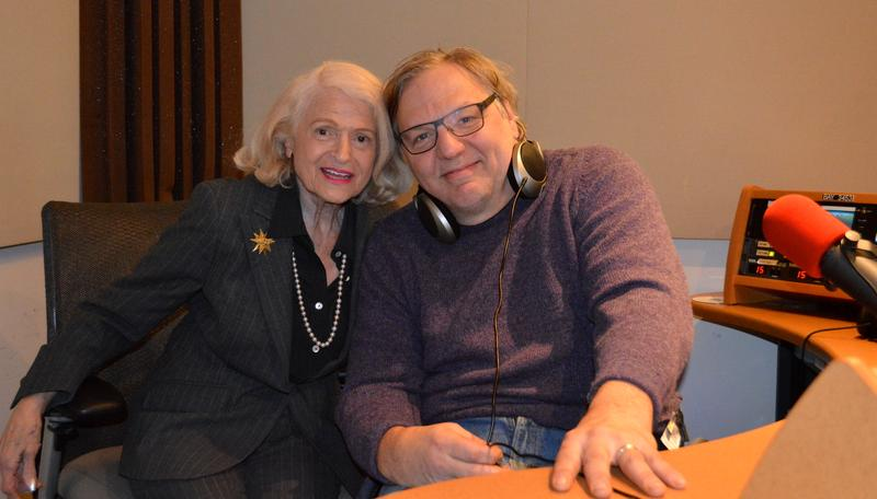 Edith Windsor with John Hockenberry
