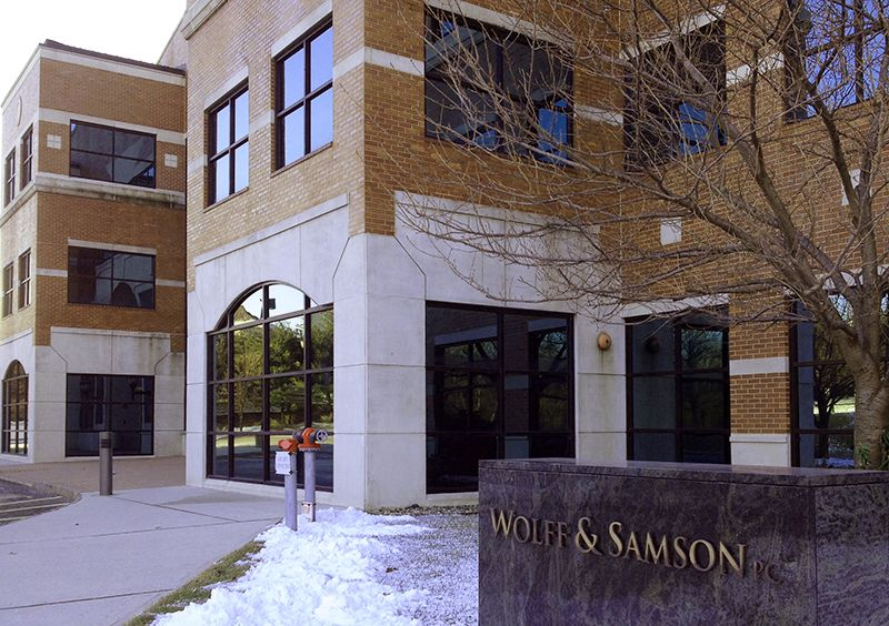 Wolff & Samson's offices in West Orange, NJ