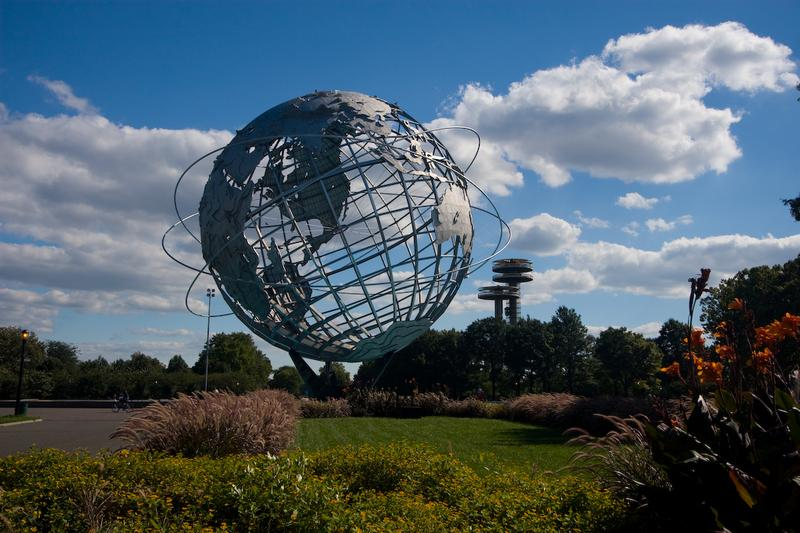 Flushing Meadows Corona Park in Queens was the site of the 1964-1965 New York World's Fair.