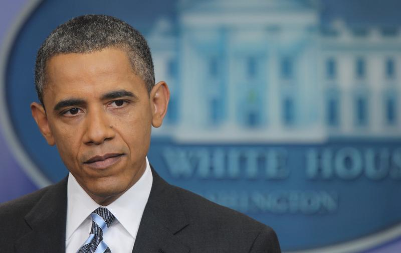 U.S. President Barack Obama speaks at a news conference in the Brady Press Briefing Room at the White House July 15, 2011 in Washington, DC.