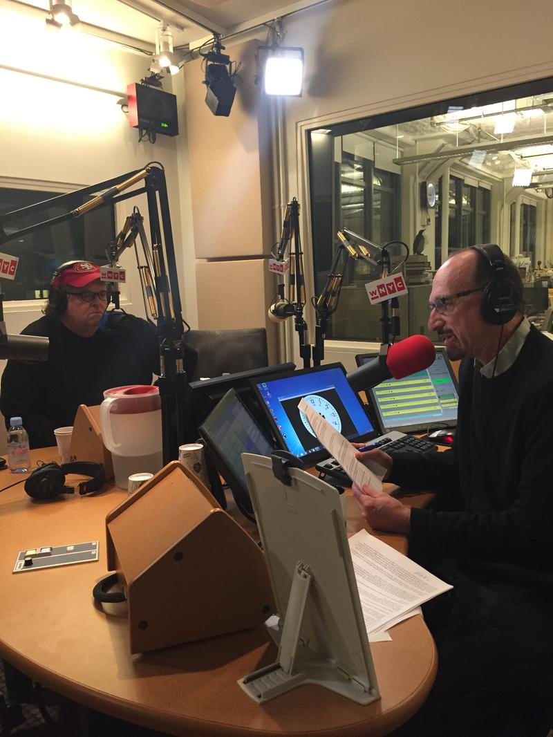 Michael Moore WNYC Brian Lehrer Indivisible