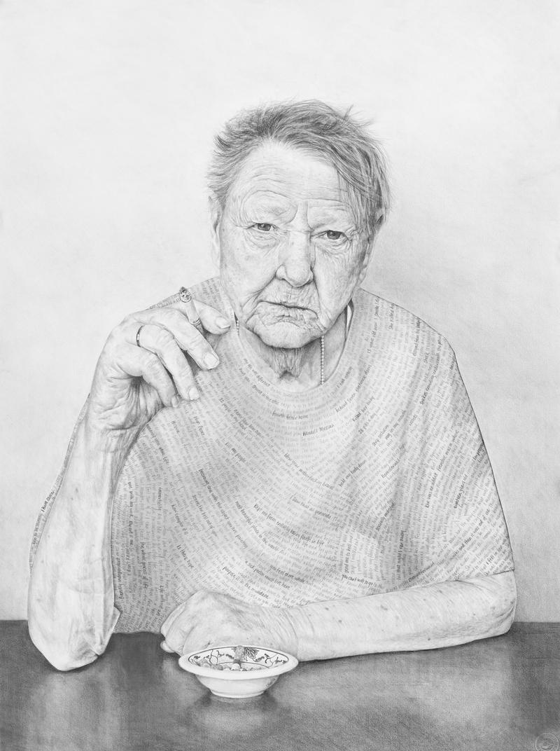 Claudia Bien's portrait 'Jenny'