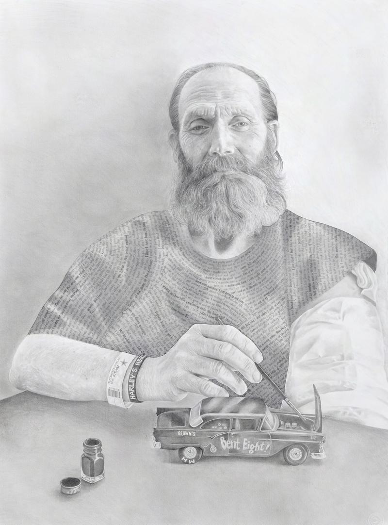 Claudia Bien's portrait 'Harlan'