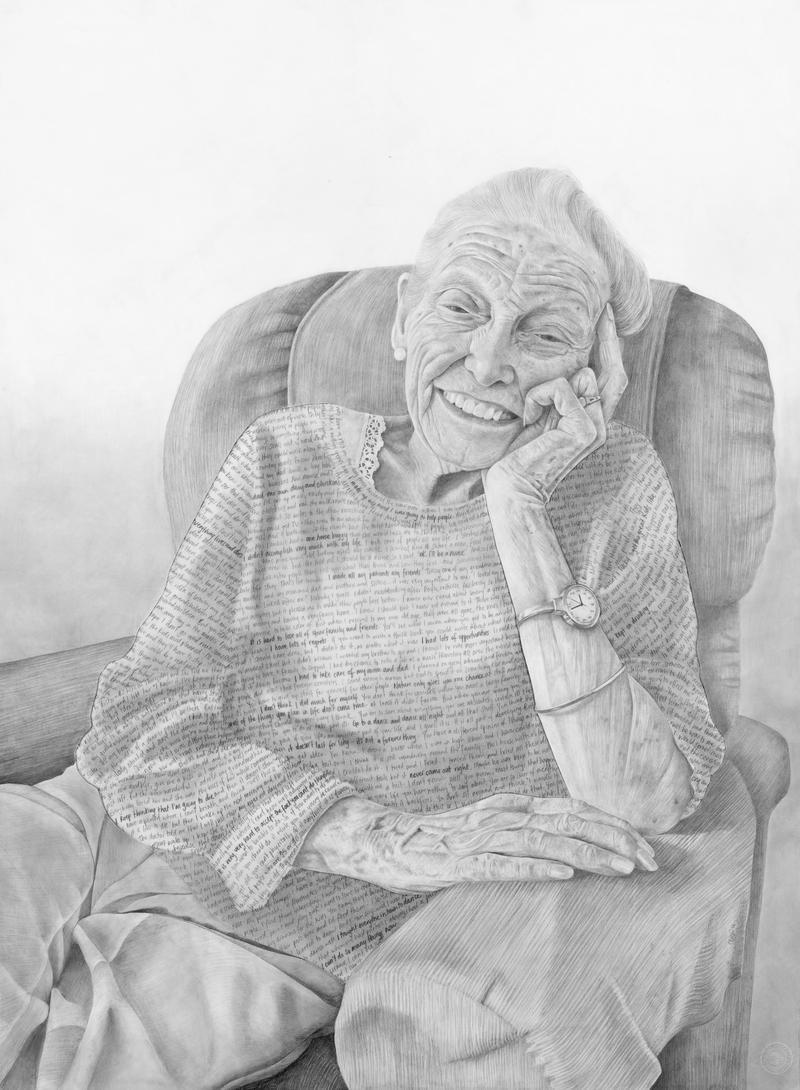 Claudia Bien's portrait 'Ena'