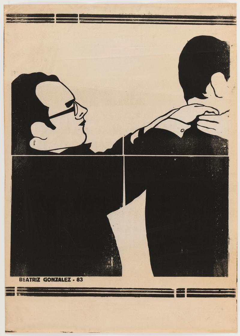8 Andy Warhols Art Of Self Promotion A Piece Work Wnyc Studios Wiring Diagram 3 Way It Canvas Print Beatriz Gonzlez Zcalo De La Tragedia 1983 One From Set Six Linoleum Cuts Each 27 9 16 X 39 70 100 Cm