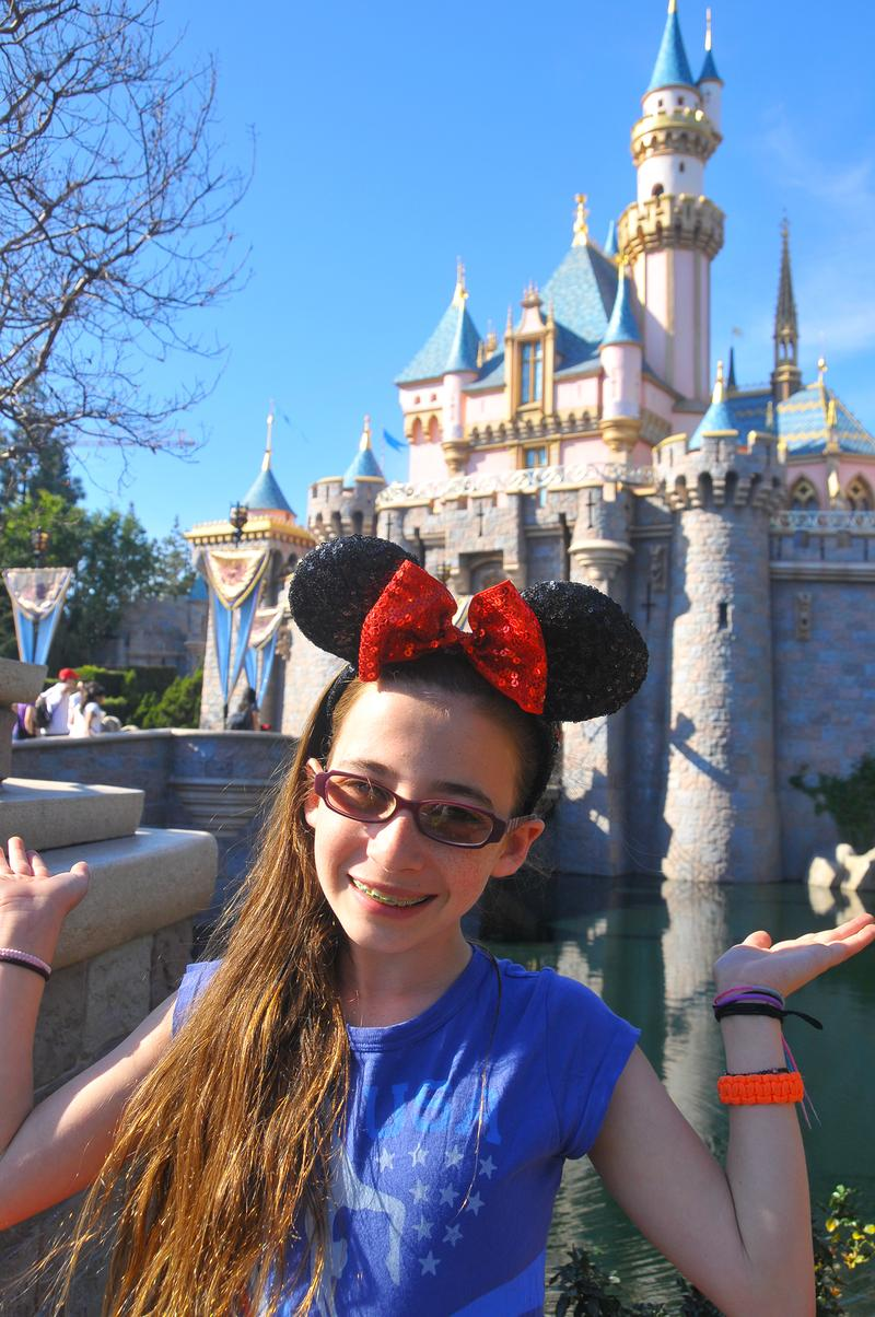 Izzy Kleiman has been an Annual Passholder to Disneyland since she was 5