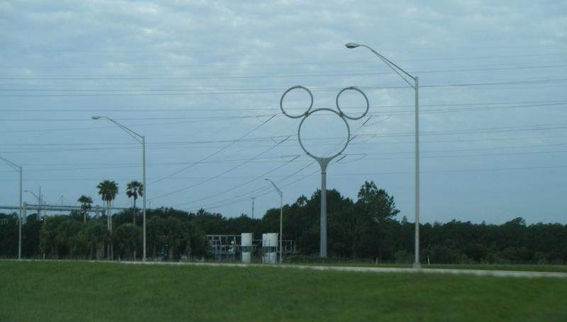 Celebration is proud of its Disney lineage: some of its electric transmission towers are shaped like Mickey Mouse