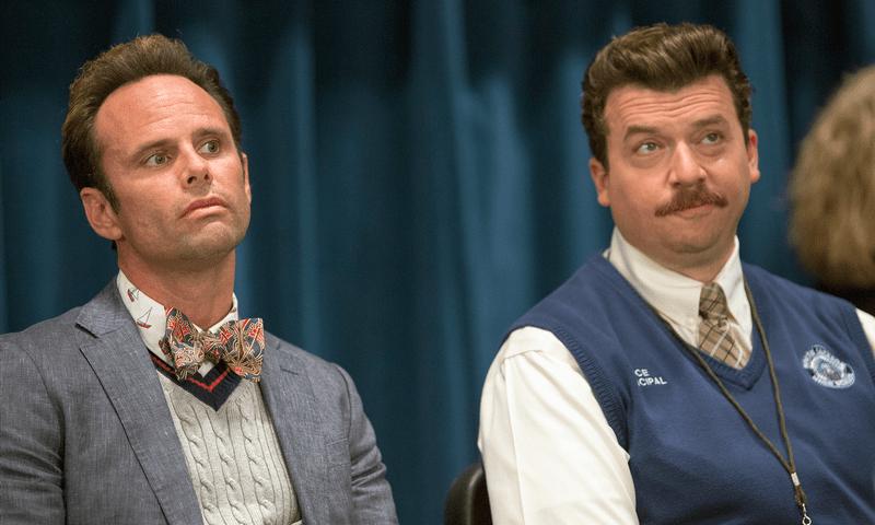 """Danny McBride and Walton Goggins as rival """"Vice Principals"""""""