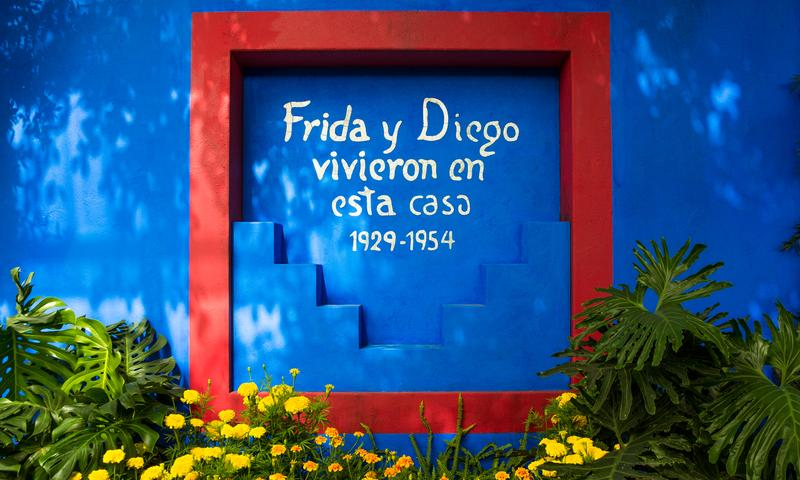 the new york botanical garden re imagines frida kahlos garden in her lifelong home casa azul which she shared with husband diego rivera