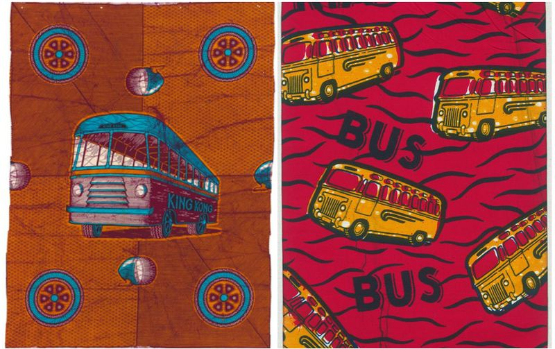 'King Kong' 'Commercial Bus' Vlisco