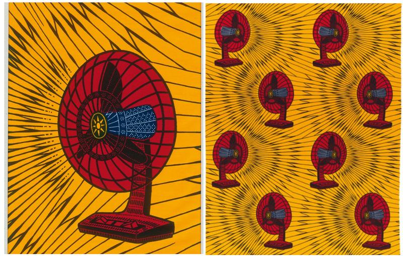 'Fan Ventilateur' Vlisco