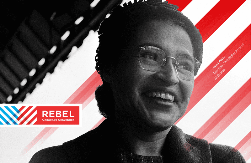 A southern rebel: Rosa Parks