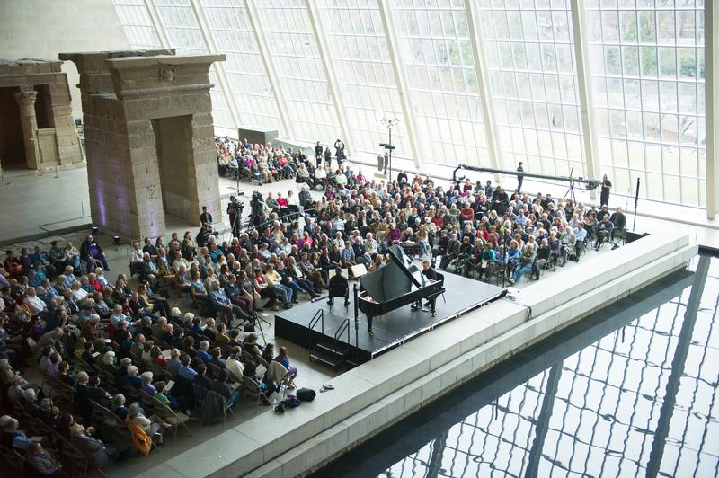 The New York Philharmonic brings 'Messiaen Week' to the Metropolitan Museum of Art's Temple of Dendur