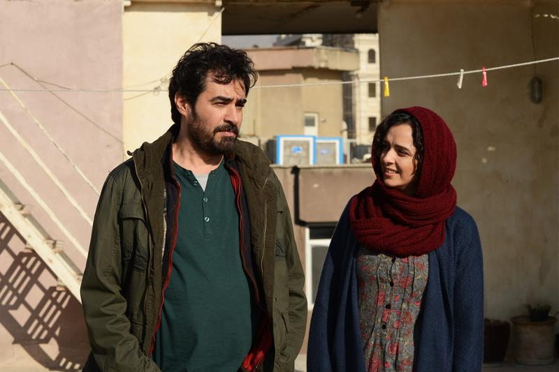 Actors Shahab Hosseini and Taraneh Alidoosti in 'The Salesman' (reprinted with permission from Cohen Media Group).