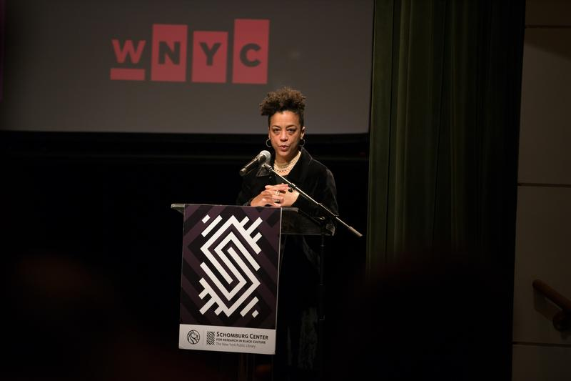 WNYC's Rebecca Carroll is host and curator of the 'Dear President' series.