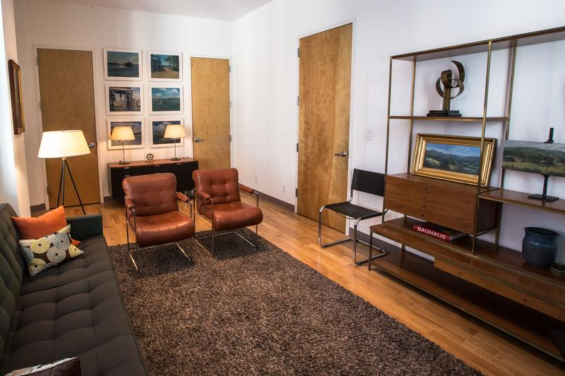 'I wanted to try and have my space be as open as possible,' couples therapist Howard Danelowitz