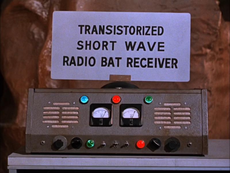 TRANSITORIZED SHORT WAVE RADIO BAT RECEIVER