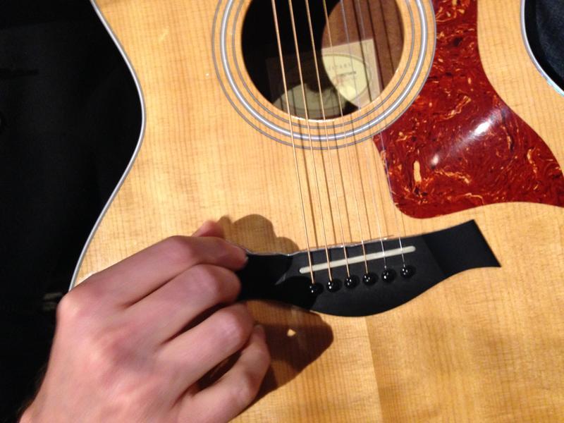 Shane Parish's prepared guitar