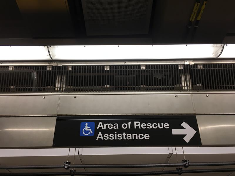 Strategically placed JBL speakers provide loud and clear announcements at the new Second Avenue subway stations.