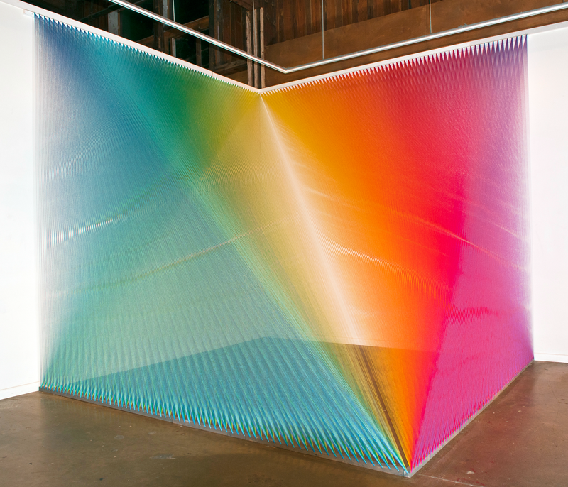 'Plexus no. 5,' 2011Site-specific installation at Pump Projects for the 2011 Texas Biennial, Austin, TX