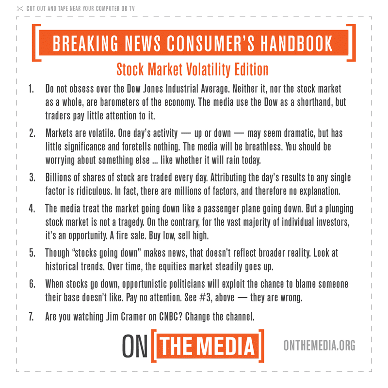 Breaking News Consumer's Handbook: Stock Market Volatility