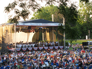The Detroit Symphony Orchestra at Greenfield Village