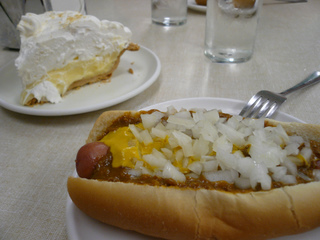 Dinner and Dessert at Lafayette Coney Island
