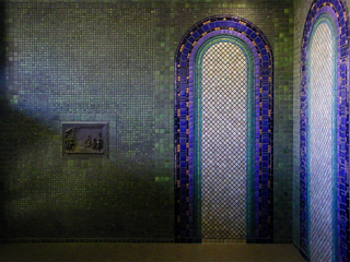 Pewabic Pottery tiles