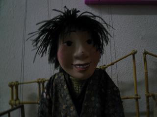 A puppet from Detroit's PuppetART theater