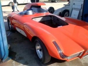 A concept car Winfield designed for Detroit a half century ago