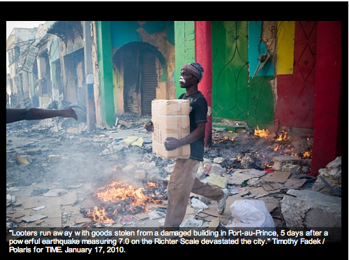 haiti looter