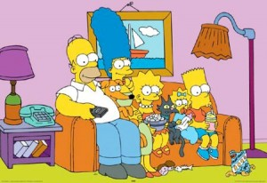 ...and the Simpsons.