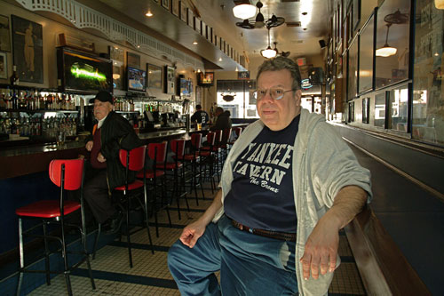 Joe Bastone, owner of Yankee Tavern two blocks from Yankee Stadium