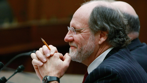 New Jersey Gov. Jon Corzine (D-NJ) participates in a House Appropriations Committee hearing on Capitol Hill, December 11, 2008. (Getty)