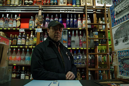 Manuel Mercedes, proprietor of Stadium Wines and Liquor
