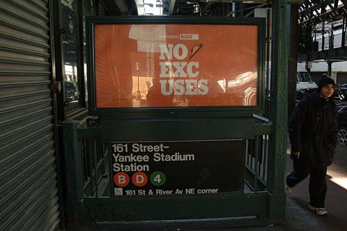 161st Street/Yankee Stadium Subway stop