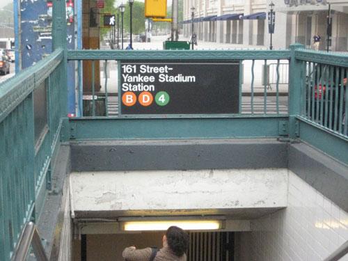 yankee stadium subway