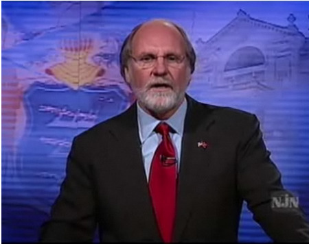 Current Democratic NJ Governor Jon Corzine
