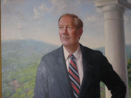 Pataki portrait in Albany