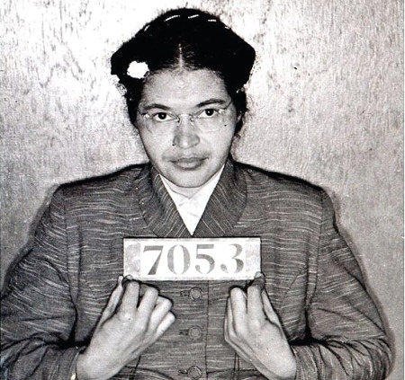 Rosa Parks arrested Dec. 1, 1955