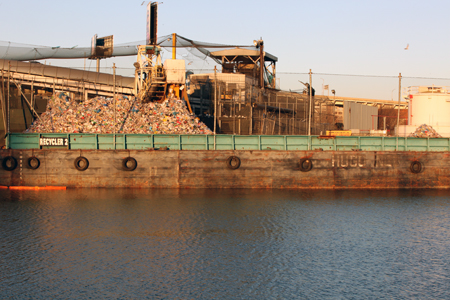 Many companies do contain much of their waste along the Newtown Creek.