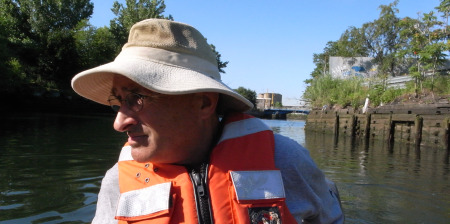 John Lipscomb, the captain of Riverkeeper