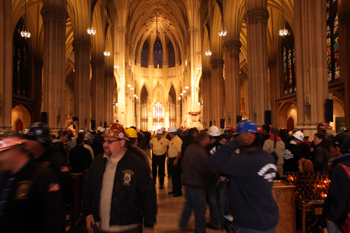 St. Patrick's Cathedral April 28, 2010 (Photo by Stephen Nessen)